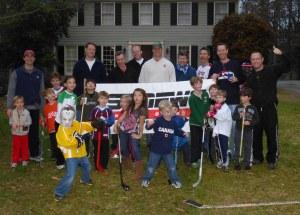 A happy band of hockey goons