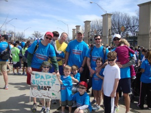 Dads' Bucket List 2013 Hunger Run/Walk Posse